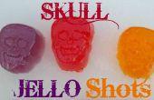 Crâne Jello Shots