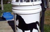 Grues à bennes solaire lumière & stockage Container SUPER facile