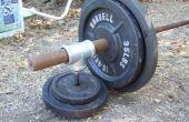 Convertir un pouce poids barre olympique