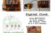 Horloge numérique à l'aide de MSP430