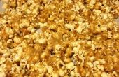 Maïs soufflé au beurre d'arachides