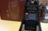 Baofeng FB-F9 V2 + Ham Radio charge Stand Modification