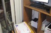 Siège/chaise coussin fait de USPS priorité Mail Padded forfaitaire enveloppes