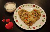Légume riz cuit au lait de coco