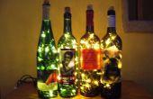 Lumière de Accent de bouteille de vin