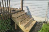 Installation de nouvelles mesures d'un porche