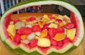 Panier de Fruit pastèque