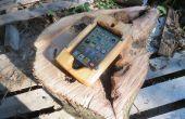 Cas de téléphone en bois