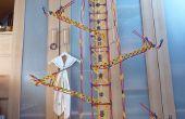 Contrer le parallèle bras ascenseur, ascenseur knex ball machine