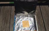 Four solaire de boîte de céréales