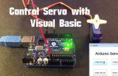 Arduino - Servo contrôle Visual Basic