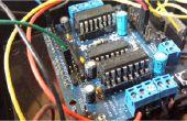 Facilement doubler la puissance de sortie d'un Conseil de moteur L293D