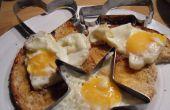 Moules de œuf frit