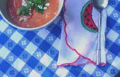 Gaspacho de melon d'eau