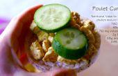 """Belge """"sandwich"""" de « Poulet-Curry » remplissage (GF)"""