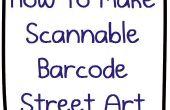 L'ultime Nerdbait : Comment faire numérisable QR Code barre Code Street Art