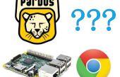 Google Chrome sur PardusARM (framboise Pi 2)