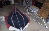 Épreuves et les Tribulations : construction d'un Kayak pliable en PVC