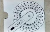 Carte de Dial pour pratique de mot de 3 lettres