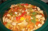 La soupe qui a gagné la guerre - Pepper Pot soupe (végétarien)