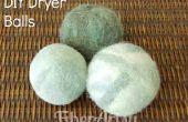 Faciles bricolage feutrés Dryer Balls