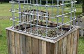 Construire une grande auto arrosage jardin & à effet de serre à partir de matériaux réutilisés