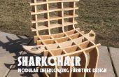 SHARKCHAIR : Modular Design mobilier de verrouillage
