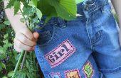 GIRL PoWEr : tableau périodique vêtements patchs