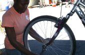 Comment patcher un pneu à plat sur un vélo