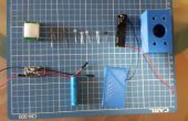 Lampe détecteur de mouvement mini de