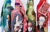 Alice à travers les miroir mixte bouteilles