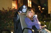La main emblématique crâne masque mort Costume pour l'Halloween