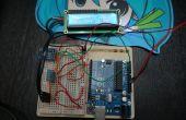 Arduino moniteur portatif de météo, altimètre, température, humidité, à l'aide de DHT11 et BMP85 avec écran LCD à l'aide de seulement 3 points