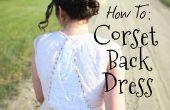 Rajouter un Corset à votre robe (vœu renouvellement édition!)