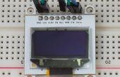 Mise en route avec écrans OLED