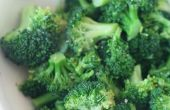 Réchauffer brocolis sésame