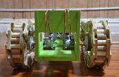 Réservoir de robot fait à partir de zéro