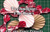 Comment faire des boucles Fan en papier pour vos Crafts