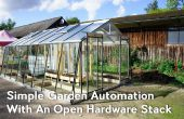 Simple jardin Automation avec un Stack Open Hardware