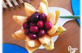 Comment sculpter un panier de fleurs de Melon