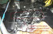 2003 Dodge Caravan mélange cassé porte hack - mine fixée pour 2 dollars!!!