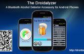 Le Droidalyzer - une source ouverte, accessoire de détecteur d'alcool Bluetooth pour les téléphones Android
