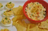Amuse-gueules de Style mexicain de œufs à la coque