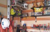 Organisez votre atelier avec rayonnage modulaire faible coût (AKA la cale de Français).