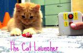 Le lanceur de chat - chat énergique d'entraînement jouet ou juste un paresseux propriétaire
