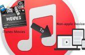 Importer des films aux périphériques non Apple sur iTunes 12