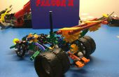 K'NeX Race Car: Falcon & Falcon X