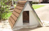 Construire une niche pour chien isolé a-frame pour moins de $75