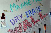 Magnétique effaçables à sec mur !