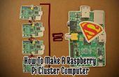 Comment faire un supercalculateur Pi framboise !